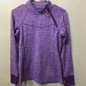 Eddie Bauer Workout Pullover w/thumb holes